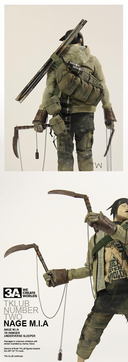 NAGE有配备两把日本刀