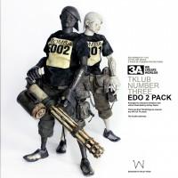 EDO TK的实物图,注意手、脚、嘴和手臂的设计
