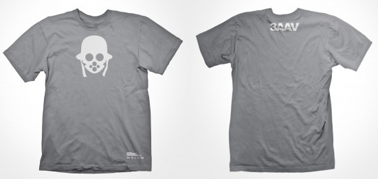 2013年会员礼中,3AA的T恤图案是特殊的